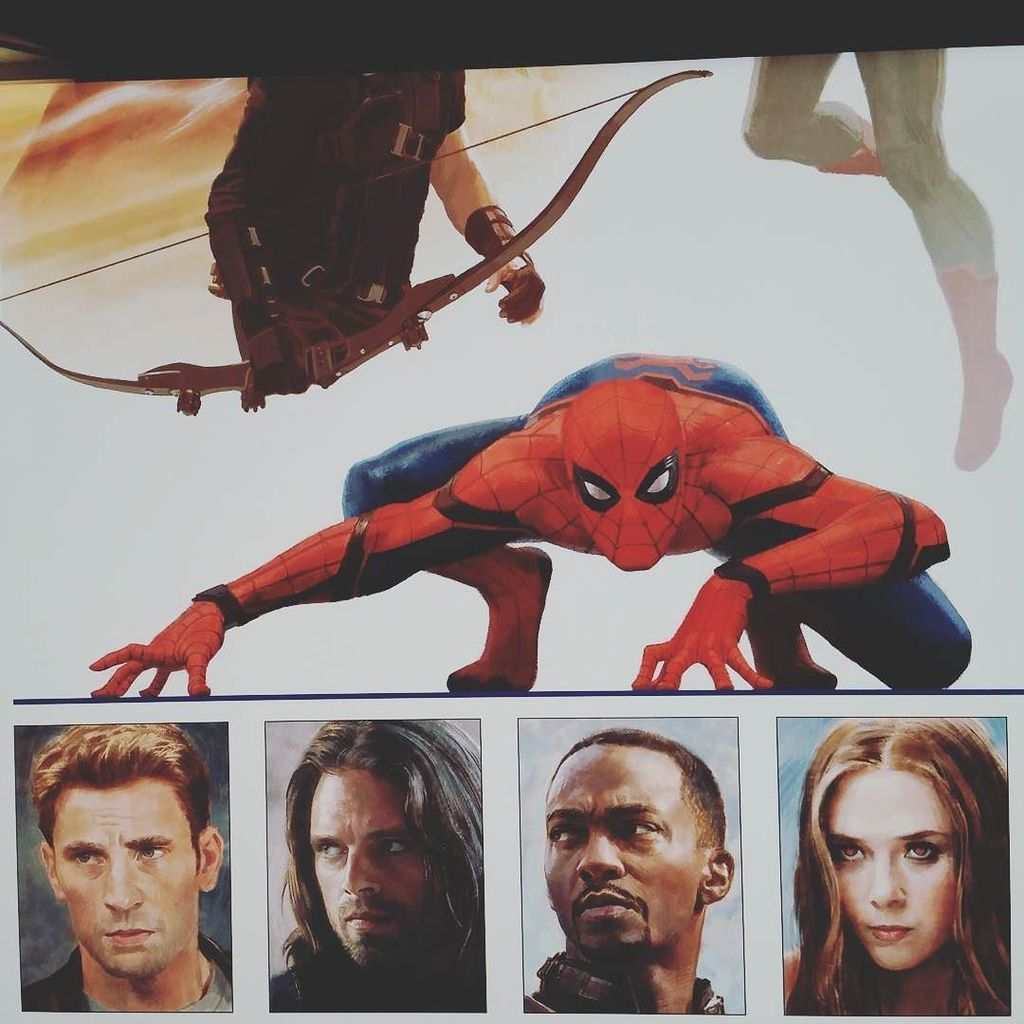 I saw someone else spill the beans, so here's a glimpse of my Civil War poster! https://t.co/DZxKMDPlph