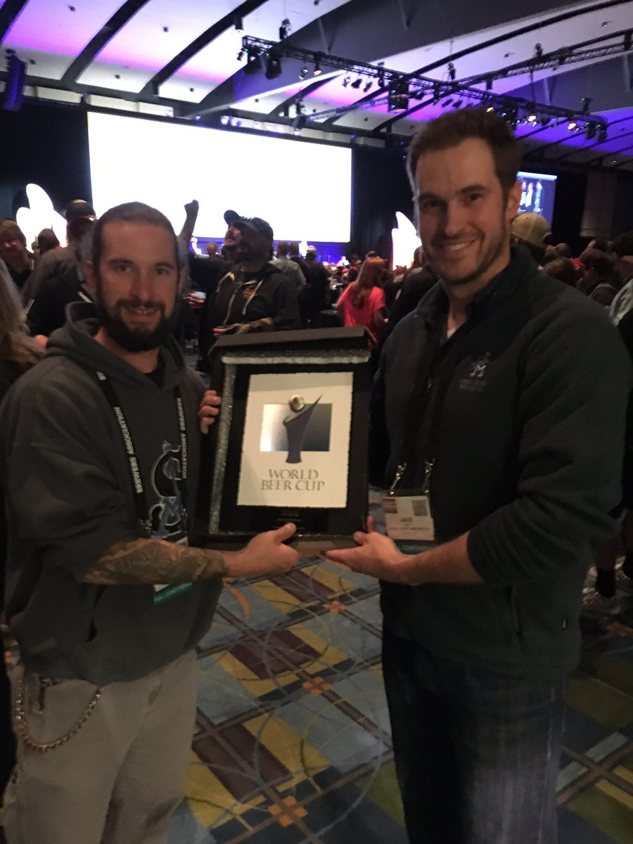 Firebrick wins a silver medal at the World Beer Cup! https://t.co/R6jwrT4kU2