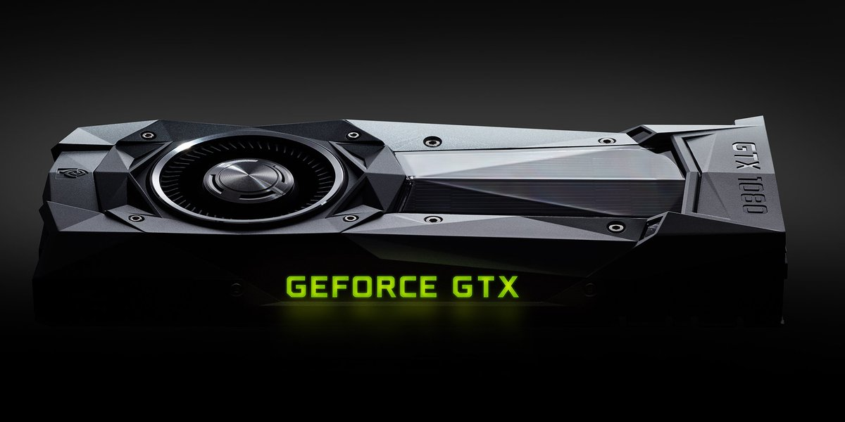 10: Gaming Perfected. The GeForce GTX 1080. Are you #GameReady? https://t.co/fBLsjFkXjg https://t.co/UWvtEa9myN