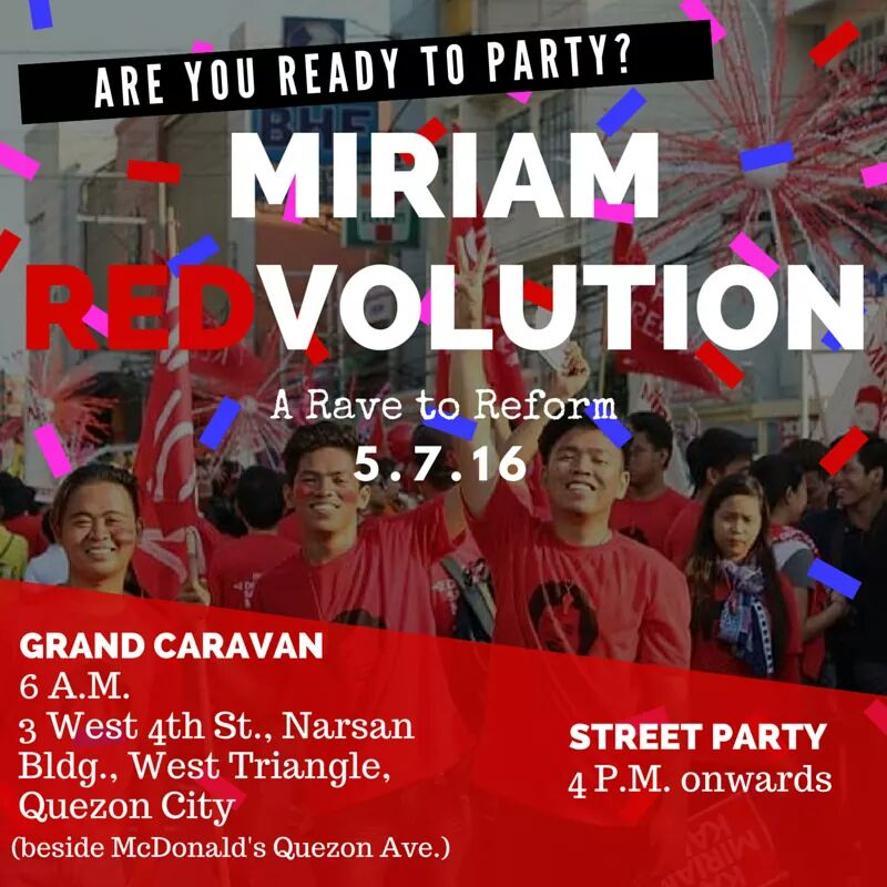 Join us tonight the #MiriamRevolution !  #BigSwitch2Miriam https://t.co/v1YB0YMUHv