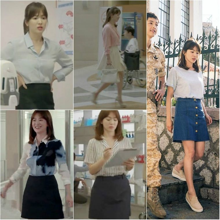 How To Steal Song Hye Kyo 39 S Style Fashion Kwave Dots