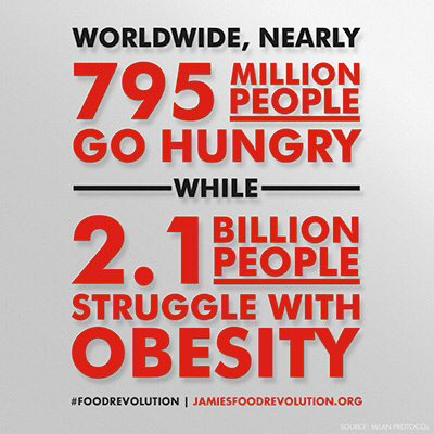 RT @KeriBeckingham: I've just joined @jamieoliver's #FoodRevolution because in 2016 there shouldn't be statistics like this https://t.co/3p…