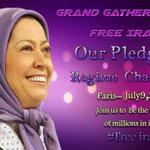 July 9th Grand gathering of civilized world against,religious #extremism & pol appeasement with #Iran. #Paris https://t.co/Yv1ToeTkSp