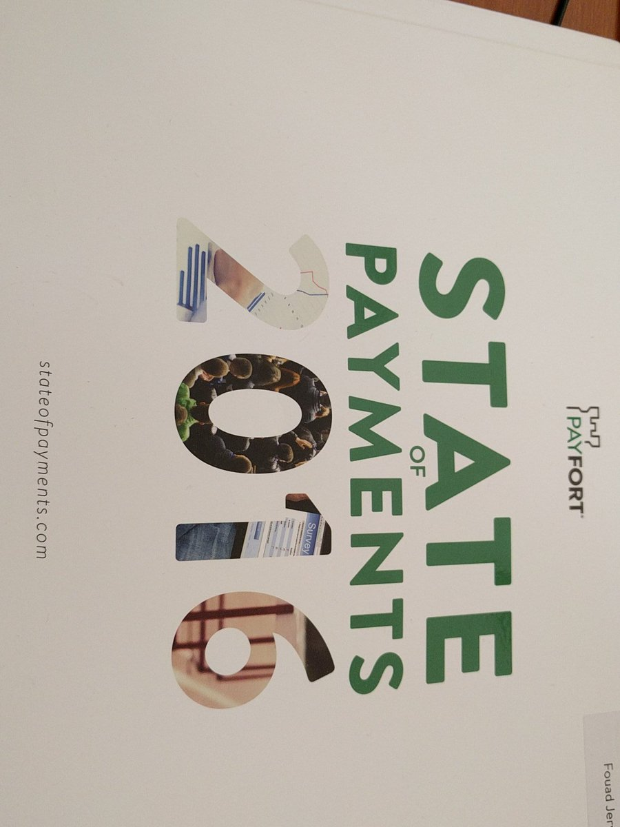 Big ups to @PayFort for the very well done #stateofpayments report they put together  & including @CashBasha https://t.co/u6kltCww0V
