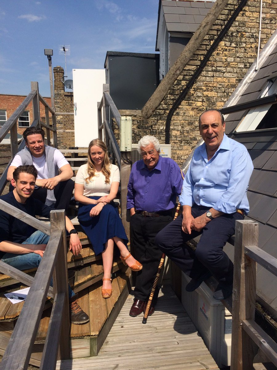 RT @CookCarluccio: Thank you for having us @SaturdayKitchen! It's been a pleasure @JoeHurd5 @jamieoliver @we_are_food @gennarocontaldo http…