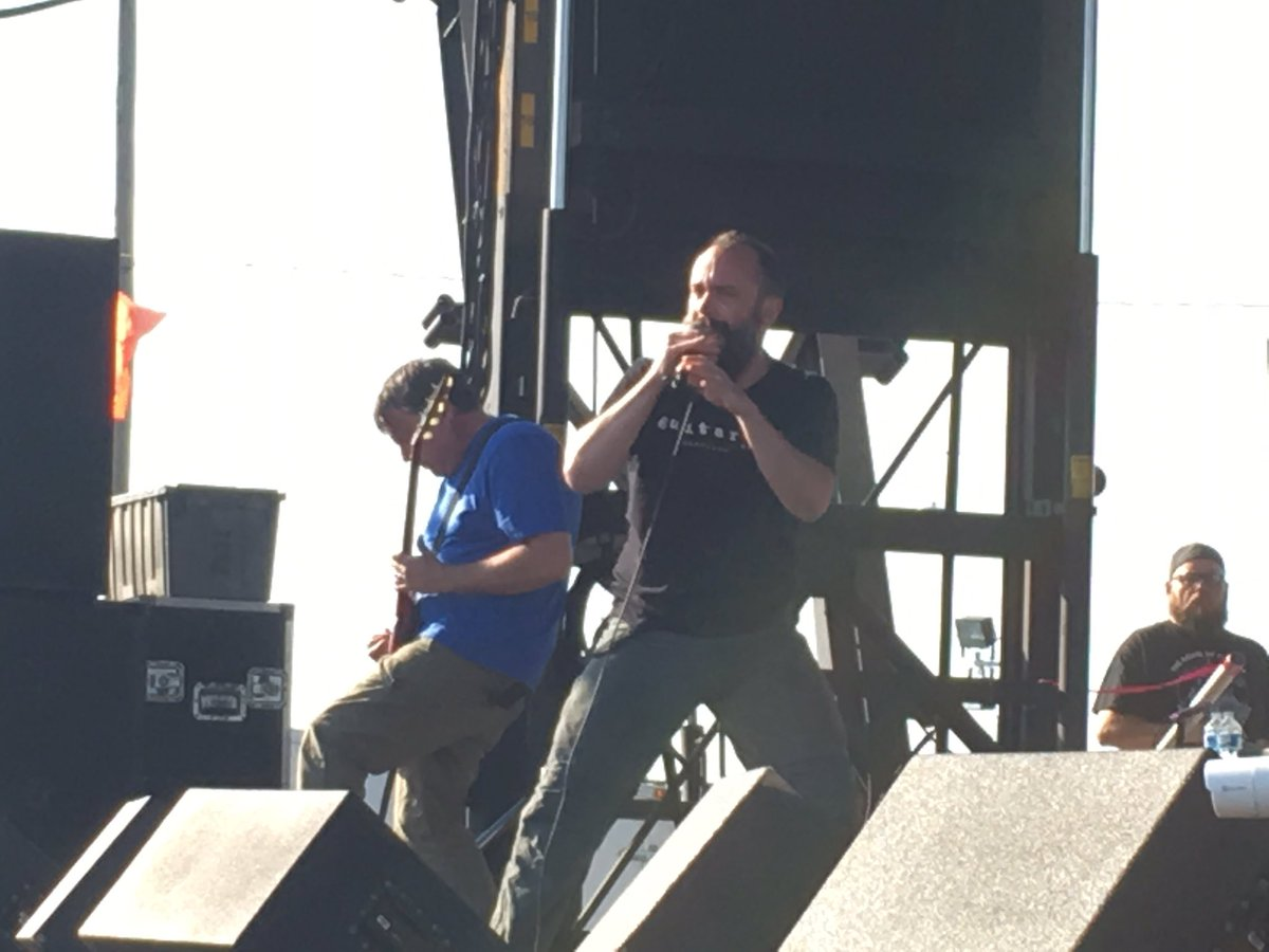 The almighty @clutchofficial  at #carolinarebellion https://t.co/M9tZTzGyyL