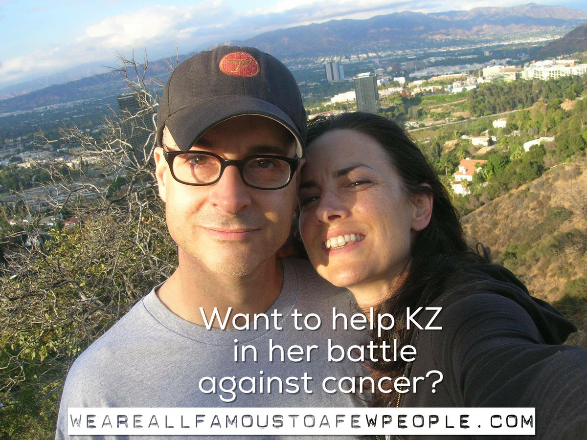 There would be no Vampire Mob without my wife KZ.   https://t.co/1LjXDlTygH  Please share to help her!   #effcancer https://t.co/T710TWyZps