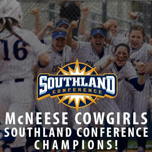 McNeese Softball... The 2016 Southland Conference Champions!!!! https://t.co/CQu3beFBd6