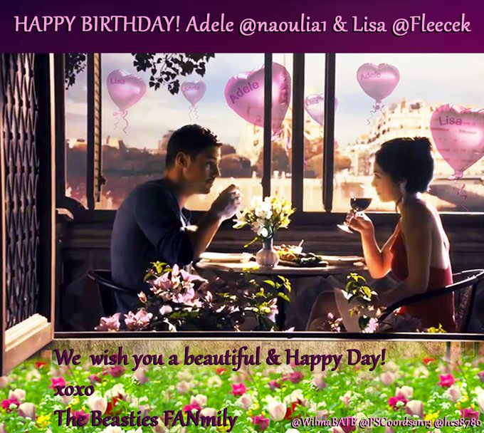 B\days!:) HAPPY BIRTHDAY!->MAY 08->Adele & Lisa Many Blessings& Enjoy!!:) xoxo