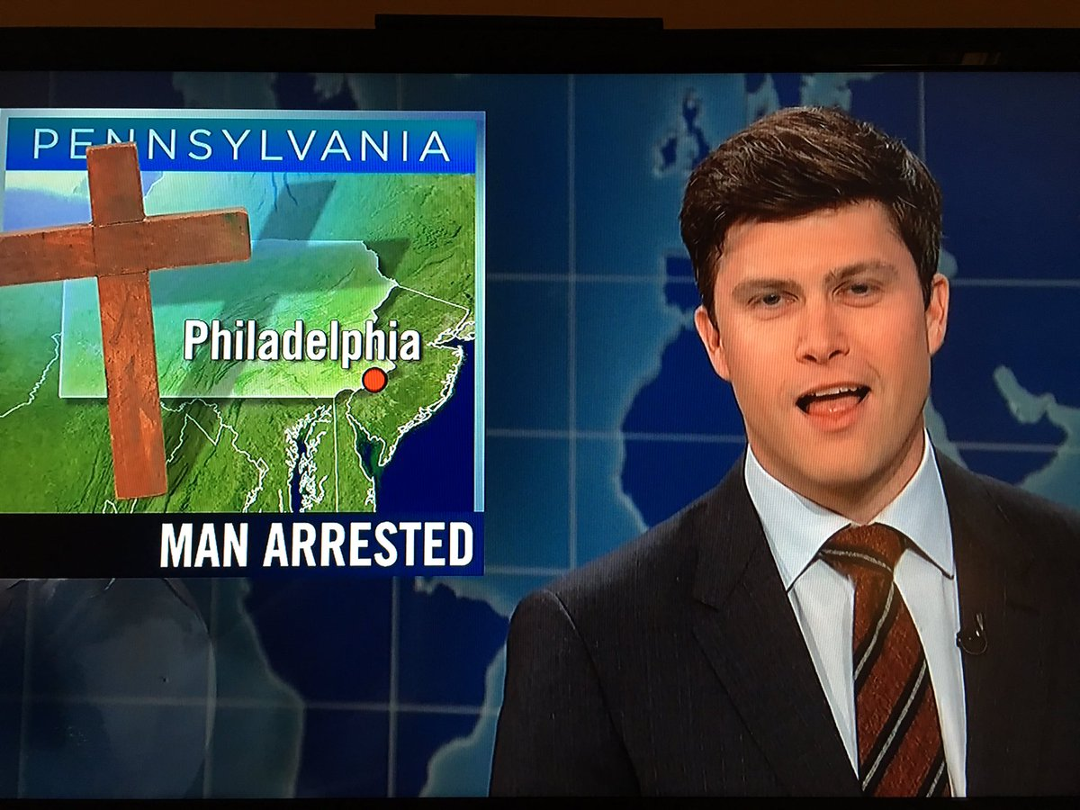 #FML there was just a @phillyjesus joke on @SNLUpdate