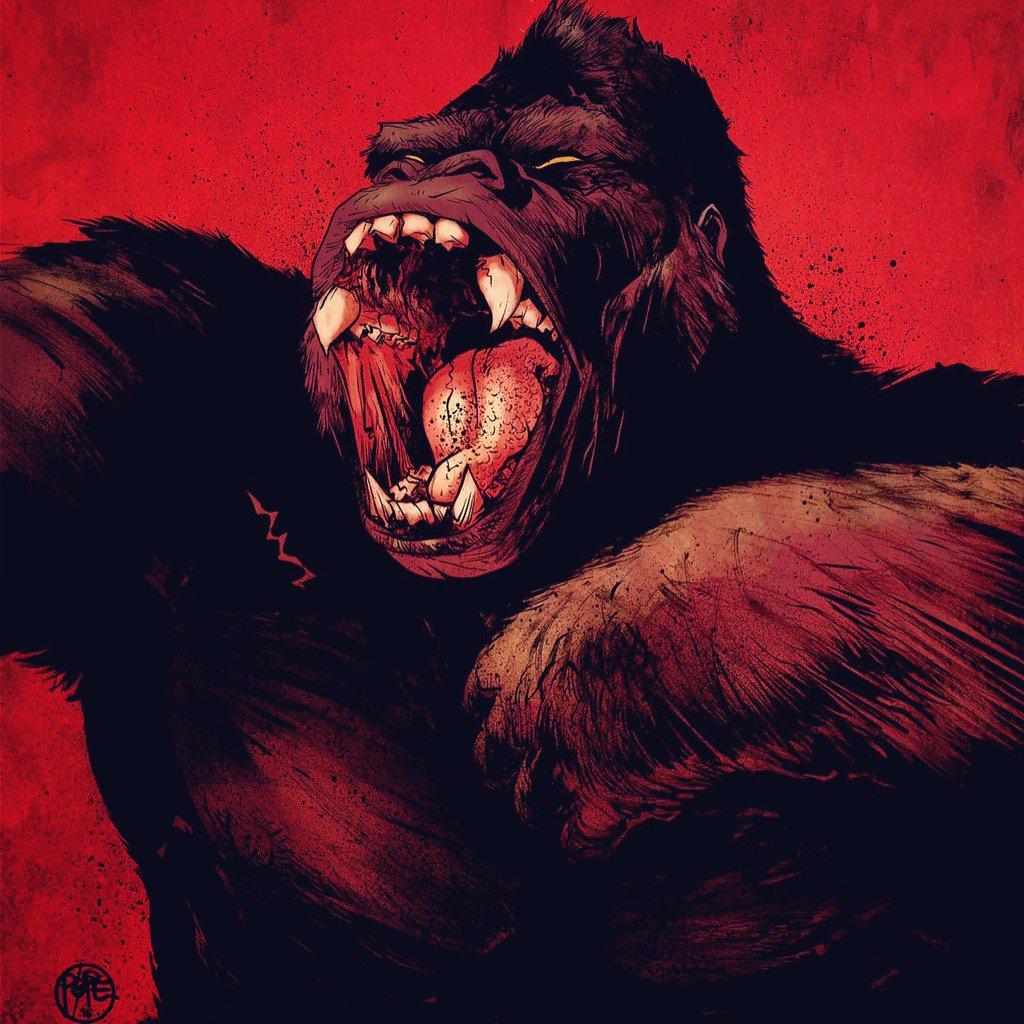 Kong Of Skull Island #1 variant BOOM! 6/13/16: https://t.co/2uCYIUFrfa