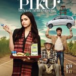 RT @SnehaRajani: This day, a year ago #PIKU .. Thank you @SrBachchan @deepikapadukone @irrfan_k @ShoojitSircar @writeonj & many more! https…
