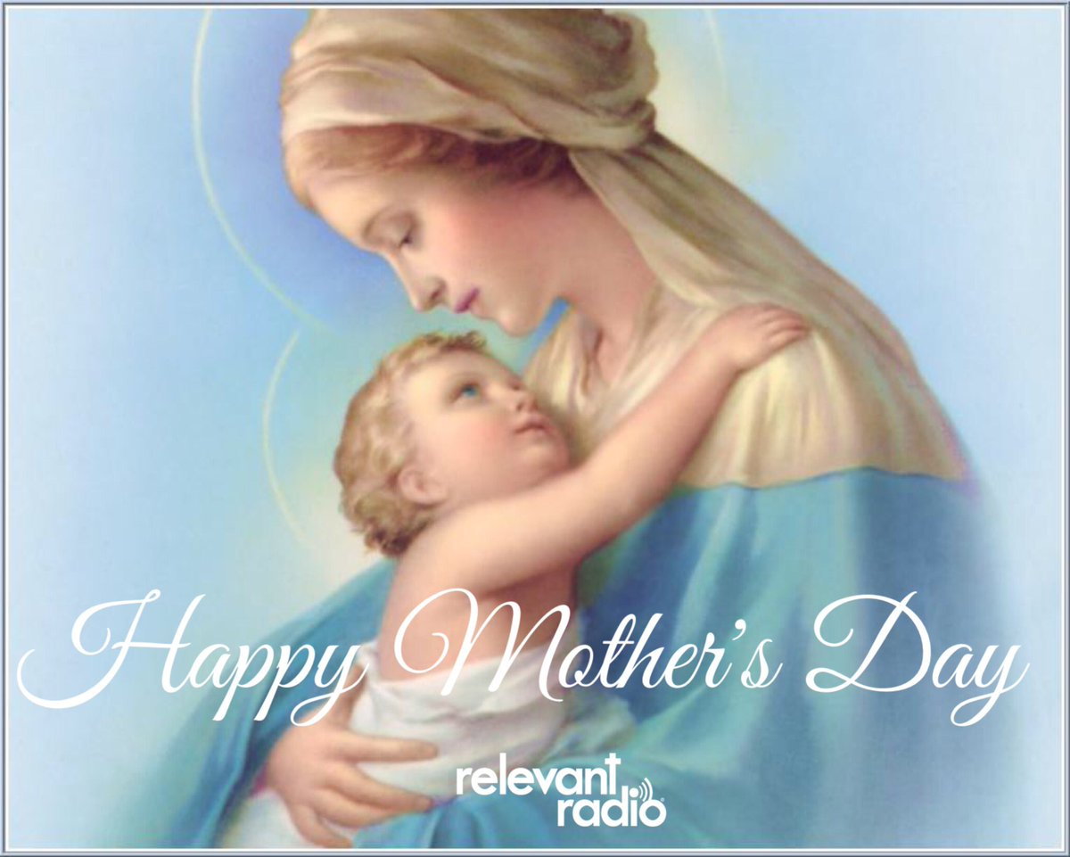 """The loveliest masterpiece of the heart of God is the heart of a mother."" -St. Therese of Lisieux  #happymothersday https://t.co/ud1dWzzEkP"