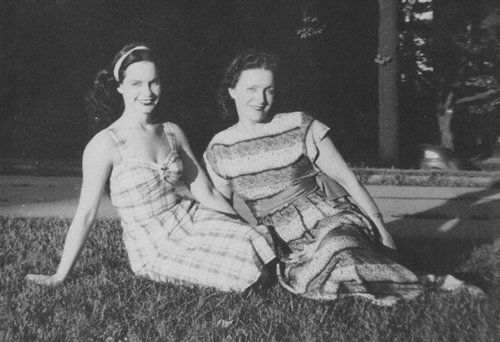 Happy Mother's Day to you amazing mamas! Here's a pic of Bettie & mom Edna.  #BettiePage #MothersDay