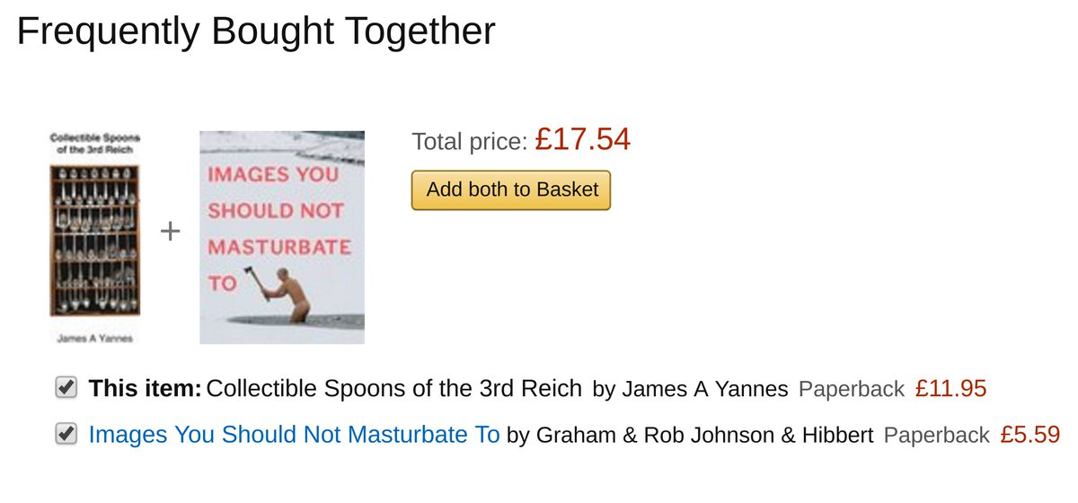 There are times when Amazon has a kind of accidental comedic genius, but this is unsurpassable https://t.co/JvSZ0bSR4N