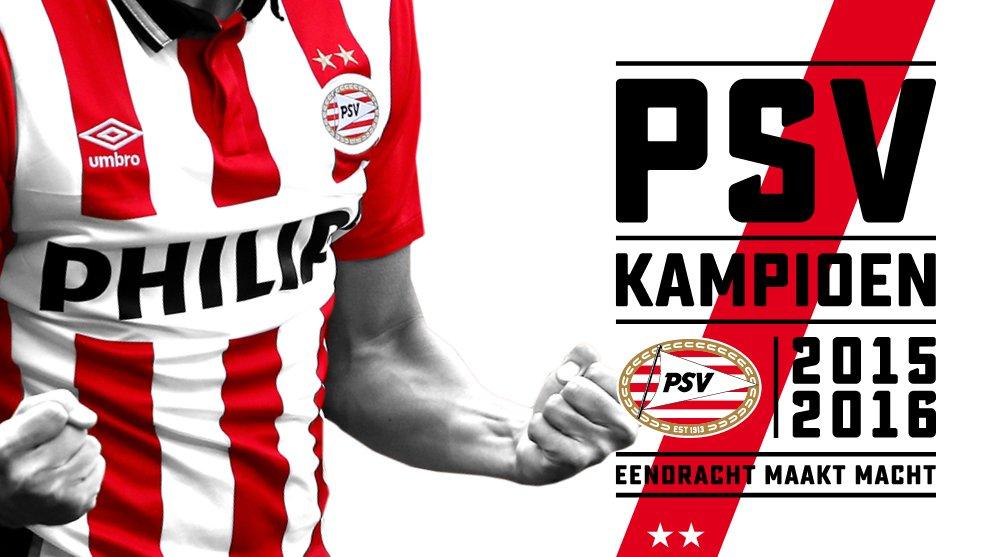 PSV IS VOOR DE 23E KEER LANDSKAMPIOEN GEWORDEN! https://t.co/IAqwPuhqmT