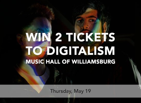 @DIDiT is giving away 2 Tix to @digitalism on 5/19!! Download + invite friends to #win : https://t.co/jFrvh3nibH https://t.co/juUgplQwBi