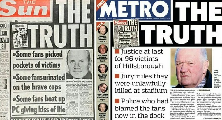 QUALITY: The front page of tomorrow's Metro. #JFT96 https://t.co/HmmQfIMcpT