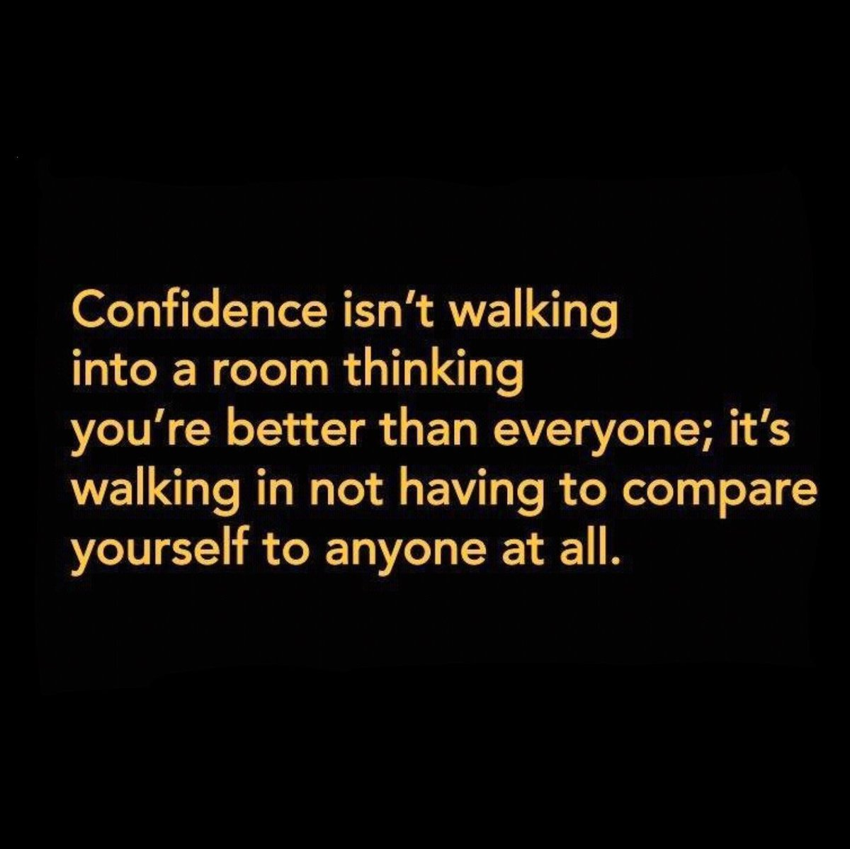I love this. Don't compare yourself to others, just be awesome.  #ConfidenceClub  #TruthTuesday https://t.co/KxCUokIgy7