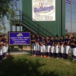 "The Midland High softball team dedicates its softball field to the memory of James R. ""Buddy"" Martin. https://t.co/rEMYOy9p8h"