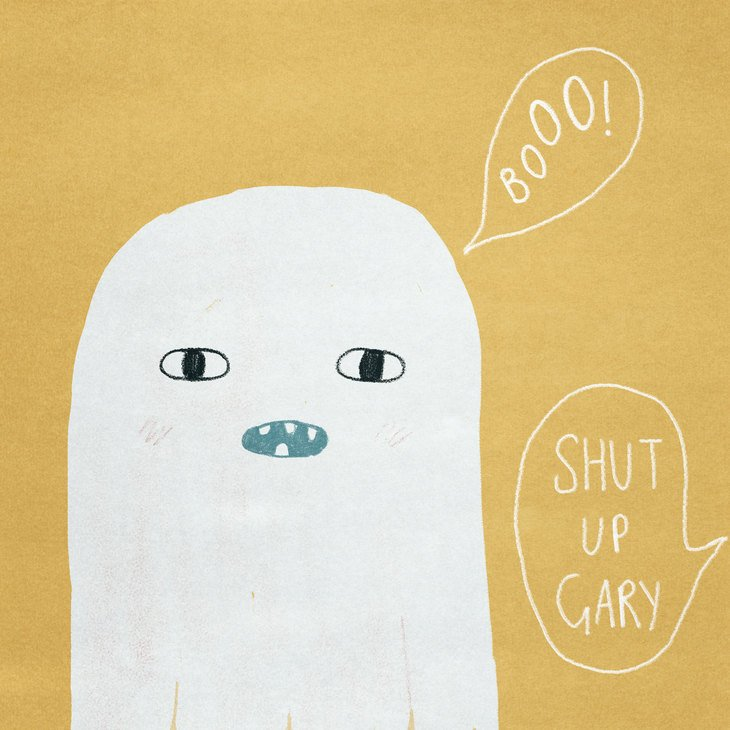 RT @hitRECord: We agree with @wirrow, Gary the ghost needs an animation -- https://t.co/FVxGDdjB5W https://t.co/Il52wX4k93