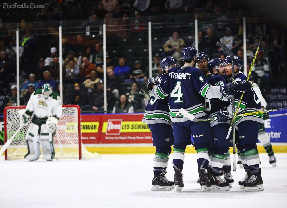 WHL: Seattle Thunderbirds Increase Series Lead To 3-0 With Home Victory