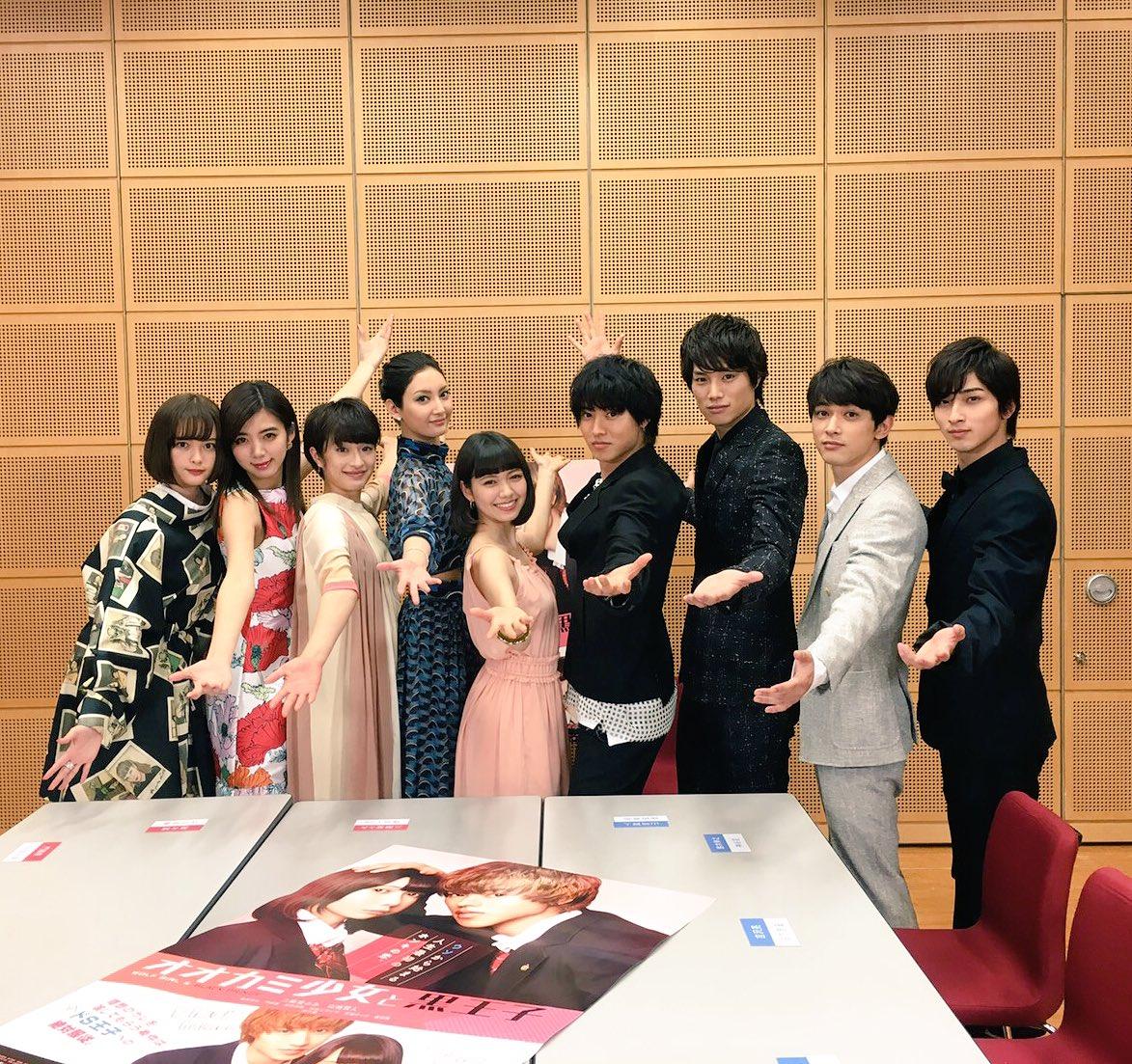 【🎁RTプレゼント🎁】『#オオカミ少女と黒王子』LINE LIVE 50万ハート達成記念!当アカウントをフォロー&この投
