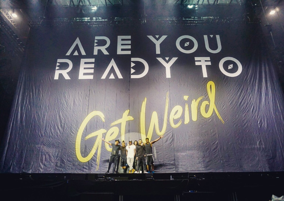 Next stop...The World! @LittleMix back soon with the #MixMen. Who has tickets to see them!? #GetWeirdTour https://t.co/vVkfZeDO3c