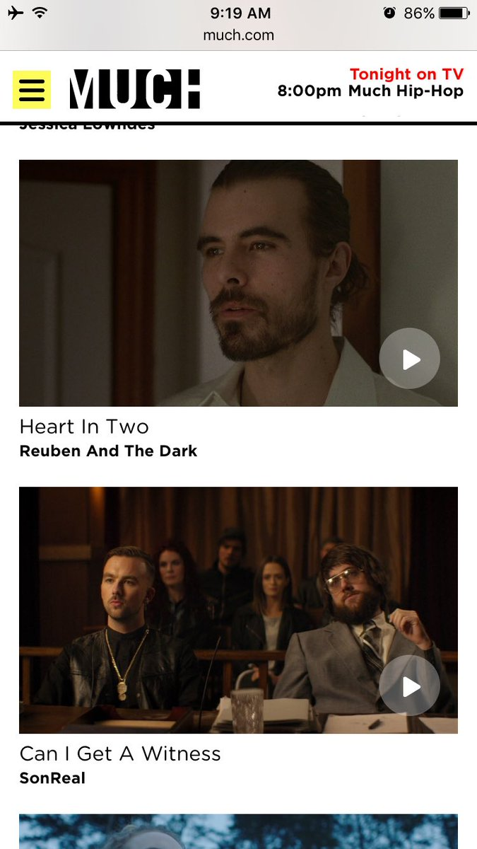 ICYMI our new music video for @reuben_thedark is also live on @Much @MuchFACT https://t.co/NJJHORTdp7