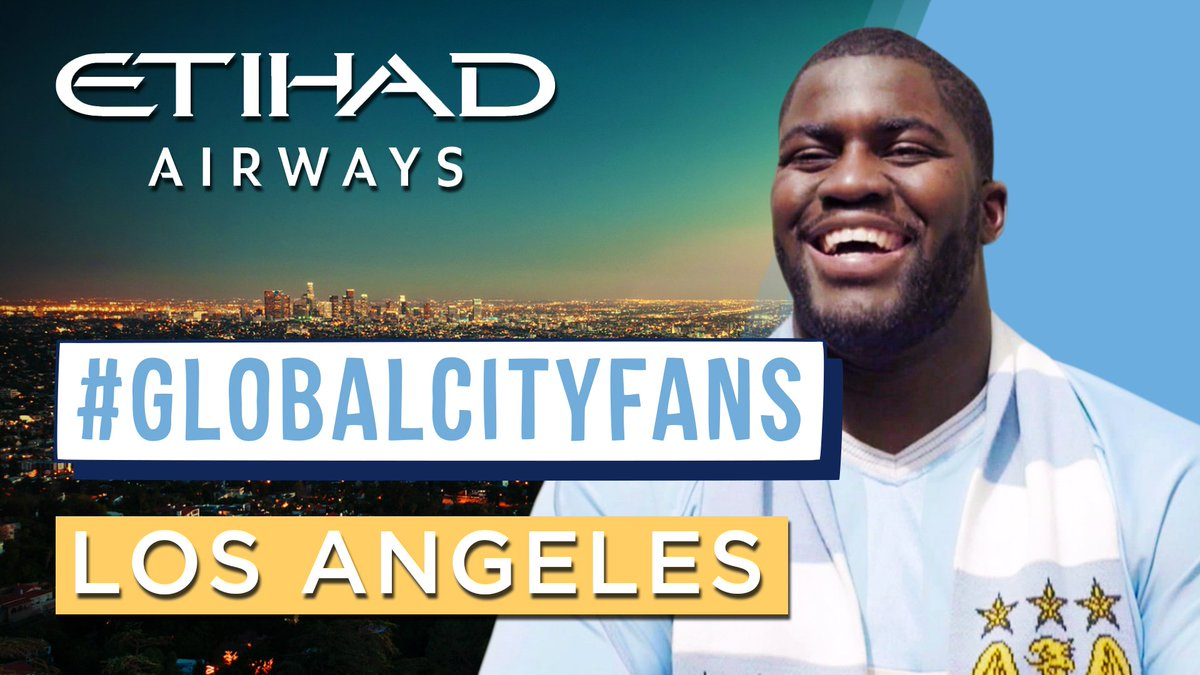 RT @MCFC: .@MenelikWatson stopped by as we caught up with GlobalCityFans in LA! Watch: 🇺🇸✈️