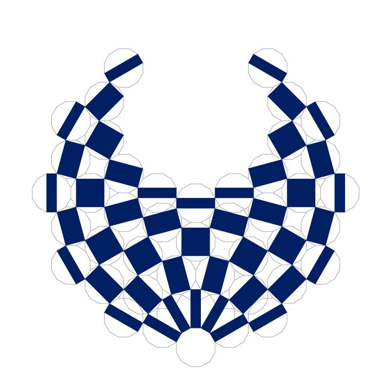 (4)オリンピックとパラリンピックのエンブレムを重ねてみると、正12角形を組み合わせて大きな円の形を作っているというのだろうというのがよく分かると思うが、どうだろうか。 https://t.co/bwyfsbYAFl