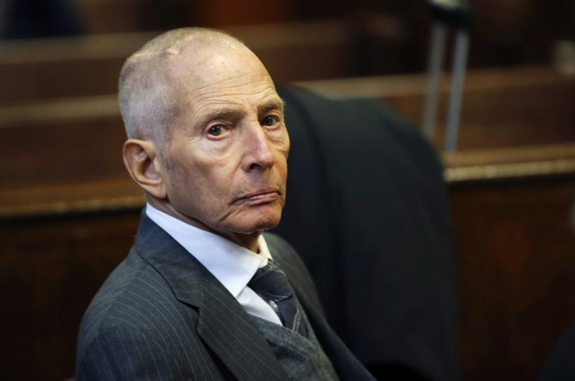 Real estate heir Durst faces sentencing in New Orleans gun case