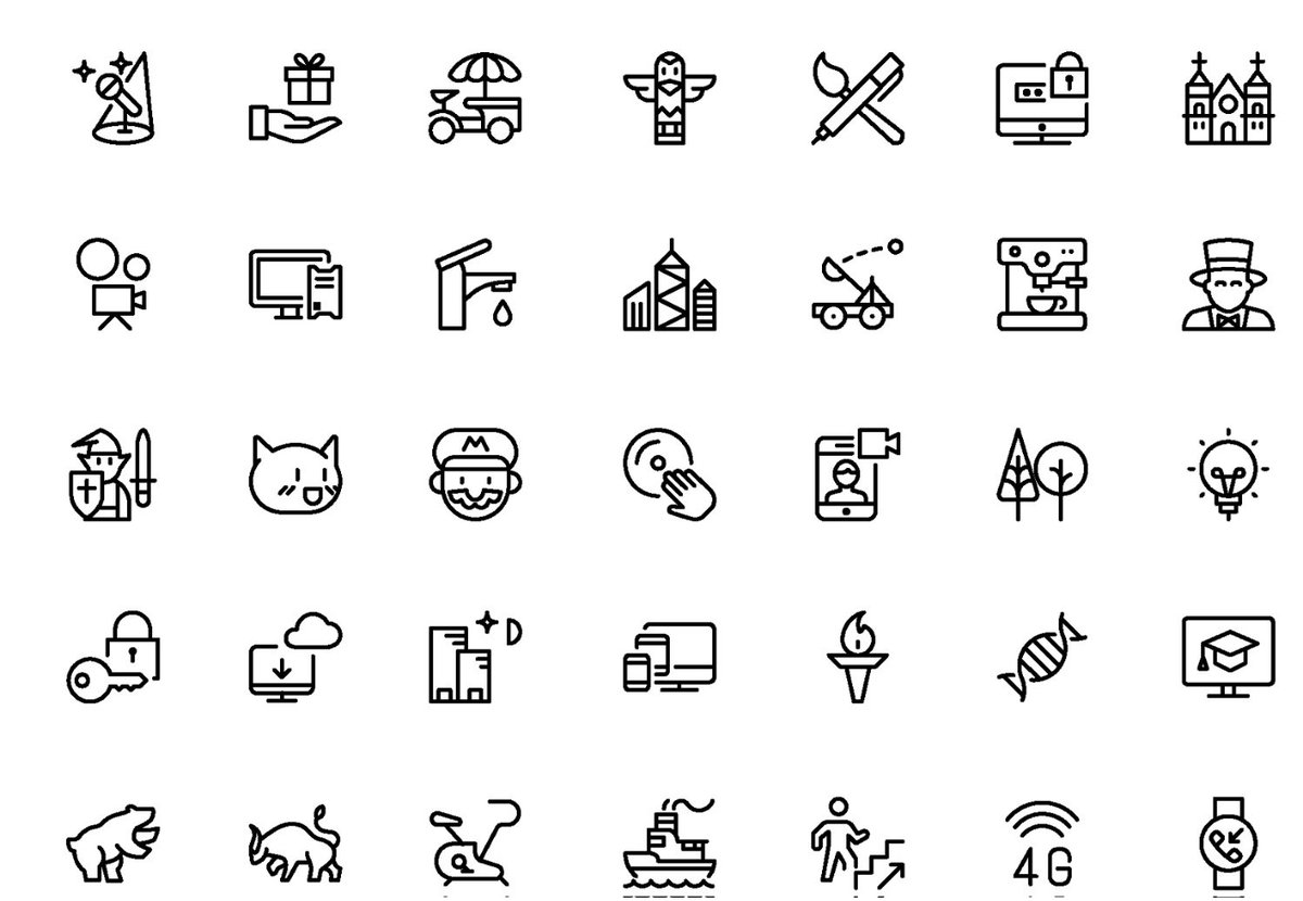 Wooot! Streamline 2.5 is here :-) 1,000 new icons + Iconjar support. https://t.co/S7pq4297Xb https://t.co/htZEbcr0k1