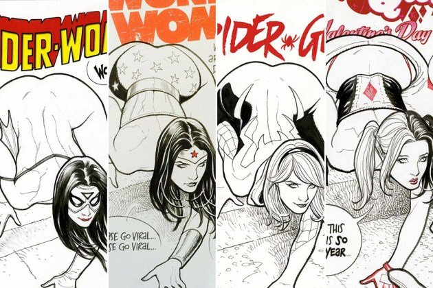 Is Frank Cho The Last Champion Of Straight Men's Boners In This Hellish Feminist Wasteland? https://t.co/ACSKXfE0K2 https://t.co/VQrglLy64f