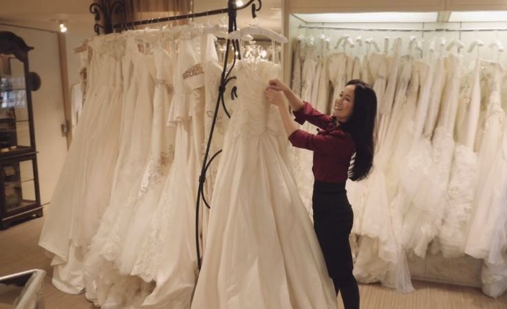 What's the best way to fly with a wedding dress? Designer @LulyYangCouture shares her tips: