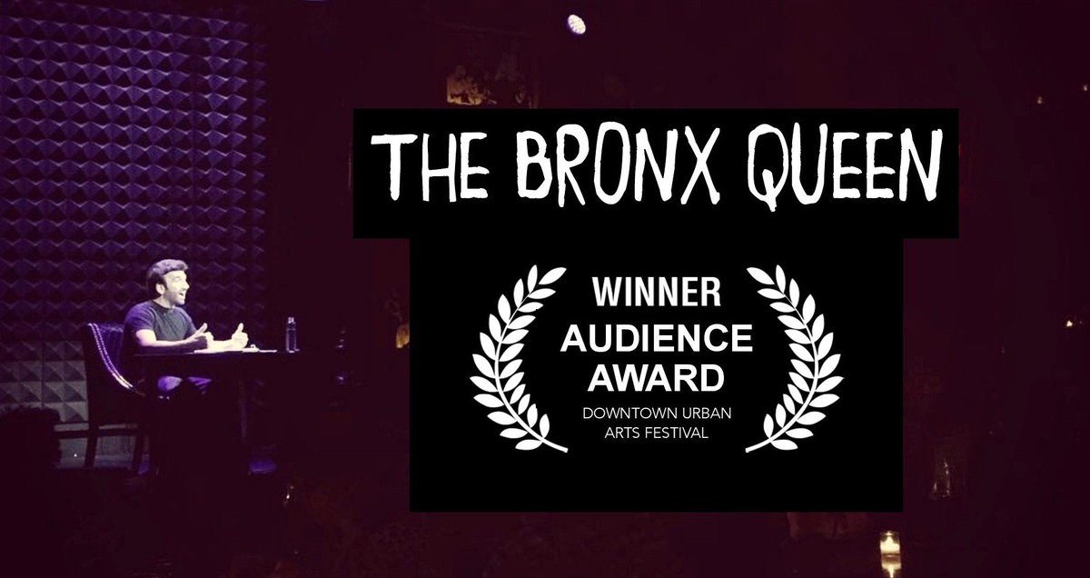 """my show """"THE BRONX QUEEN"""" at @JoesPub just WON the DUAF AUDIENCE AWARD !!!! check article >> https://t.co/cjAug24tD4 https://t.co/glfMV4qDEG"""