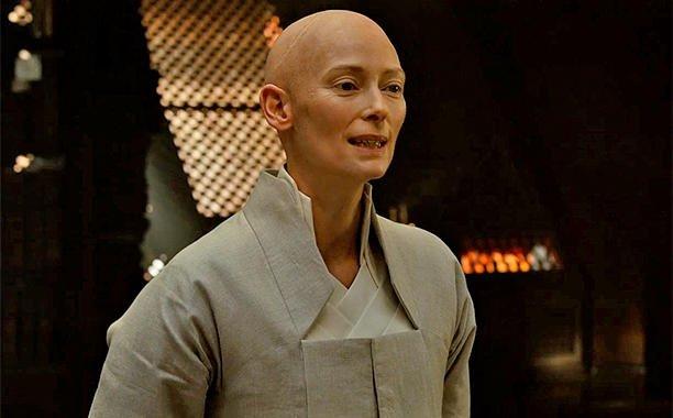 Marvel issues statement about Tilda Swinton's casting in DoctorStrange: