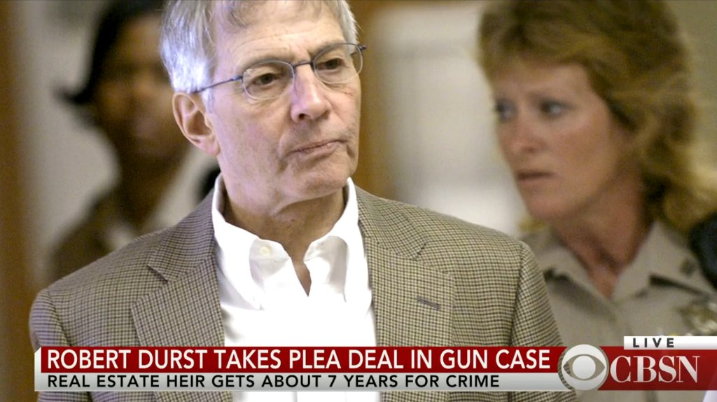 Real estate heir Robert Durst to serve 7 years for weapon charge; @EFMoriarty discusses