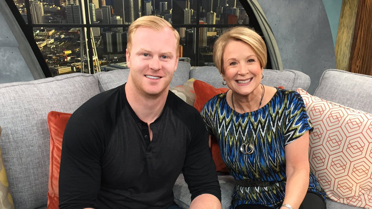 Now on #NewDayNW: @JonRyan9 joins @_MargaretLarson for a chat! Tune in now!