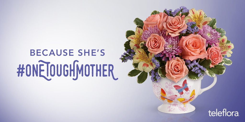 Want to win a $100 #Teleflora gift card for #MothersDay? RT telling us why your #Mom is #OneToughMother https://t.co/VKAUZv7HVq