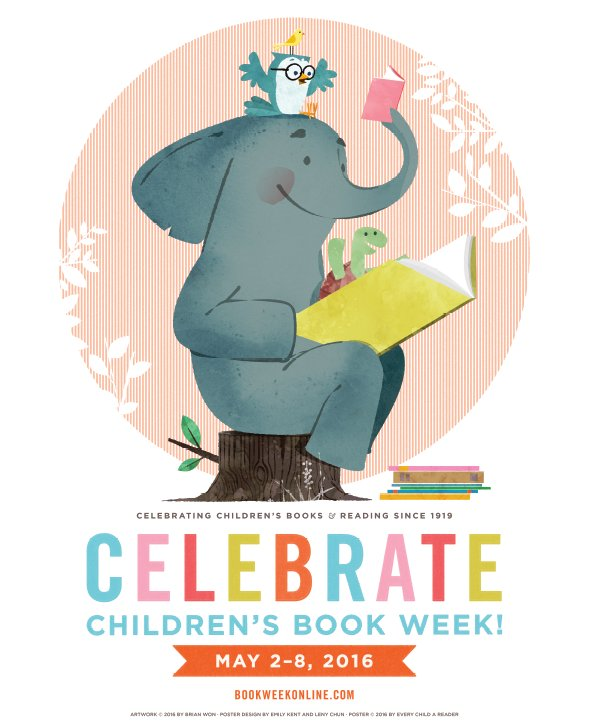 Just 5 more days 'til the best time of the year: Children's Book Week! https://t.co/LcaA4RA4be #CBW16 #kidlit https://t.co/OqFVV08mVd