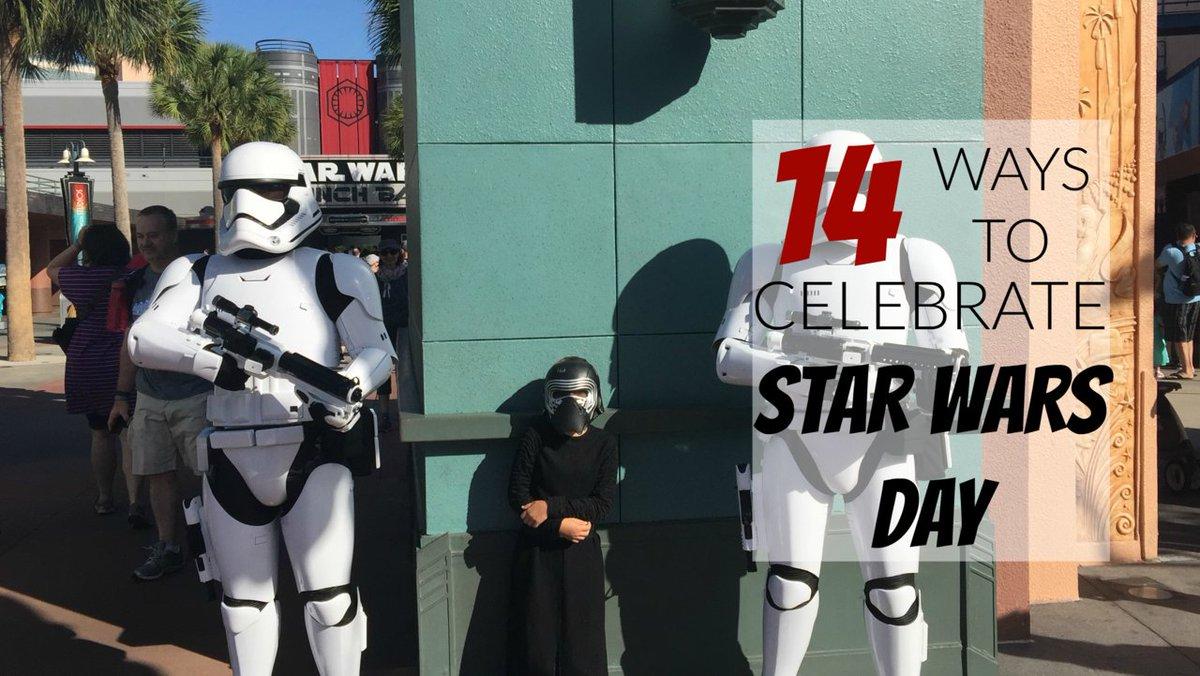 Fun! RT @RWeThereYetMom: #StarWarsDay Star Wars Movie Party by @modernmami #DisneySMMC https://t.co/hCc5j0AVH4 https://t.co/5lGae5NPqH
