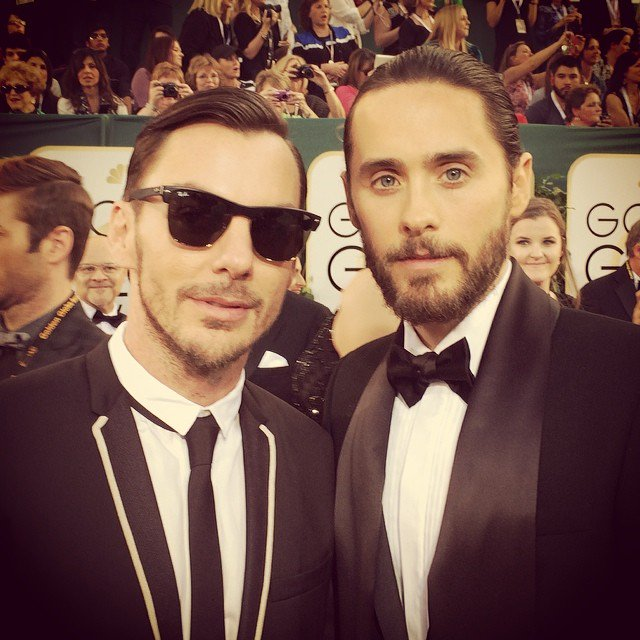 Me + @ShannonLeto 2014. #GoldenGlobes #tbt https://t.co/OHn3nayqAC