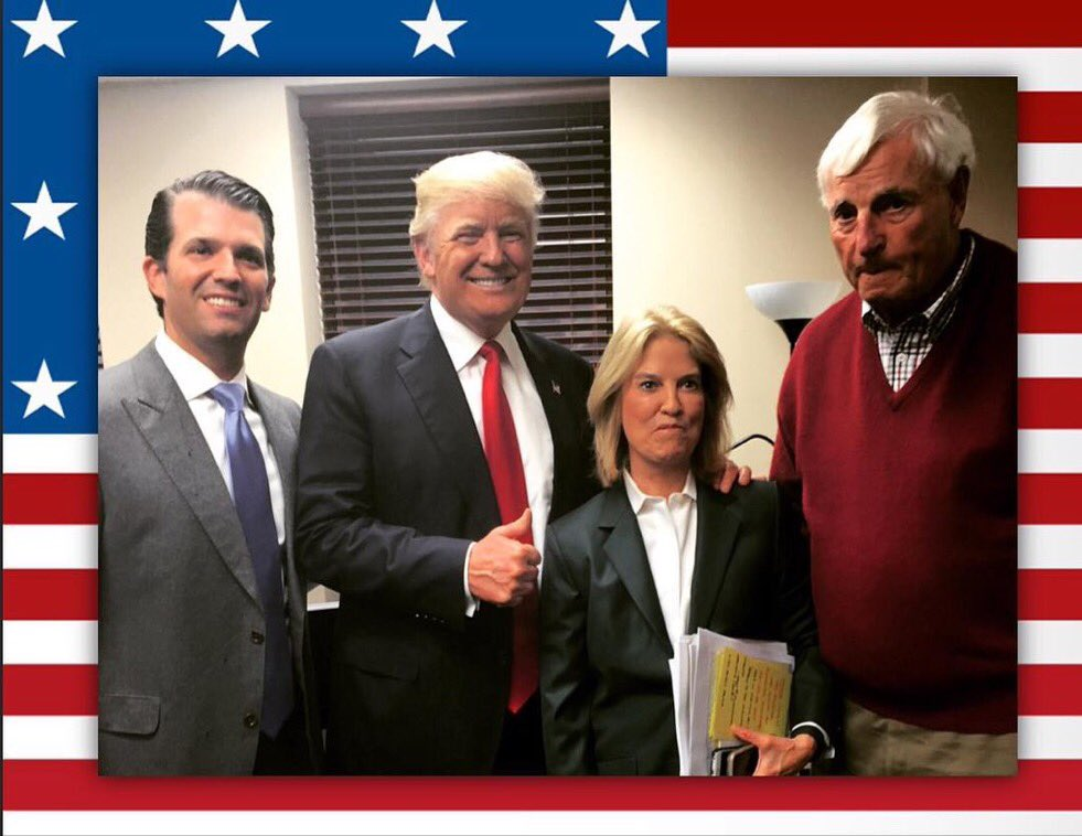 An Honor to be in #Indiana w @realDonaldTrump @greta & the legend, Bobby Knight! I like our secret weapon better!!! https://t.co/xYMKoC65PS