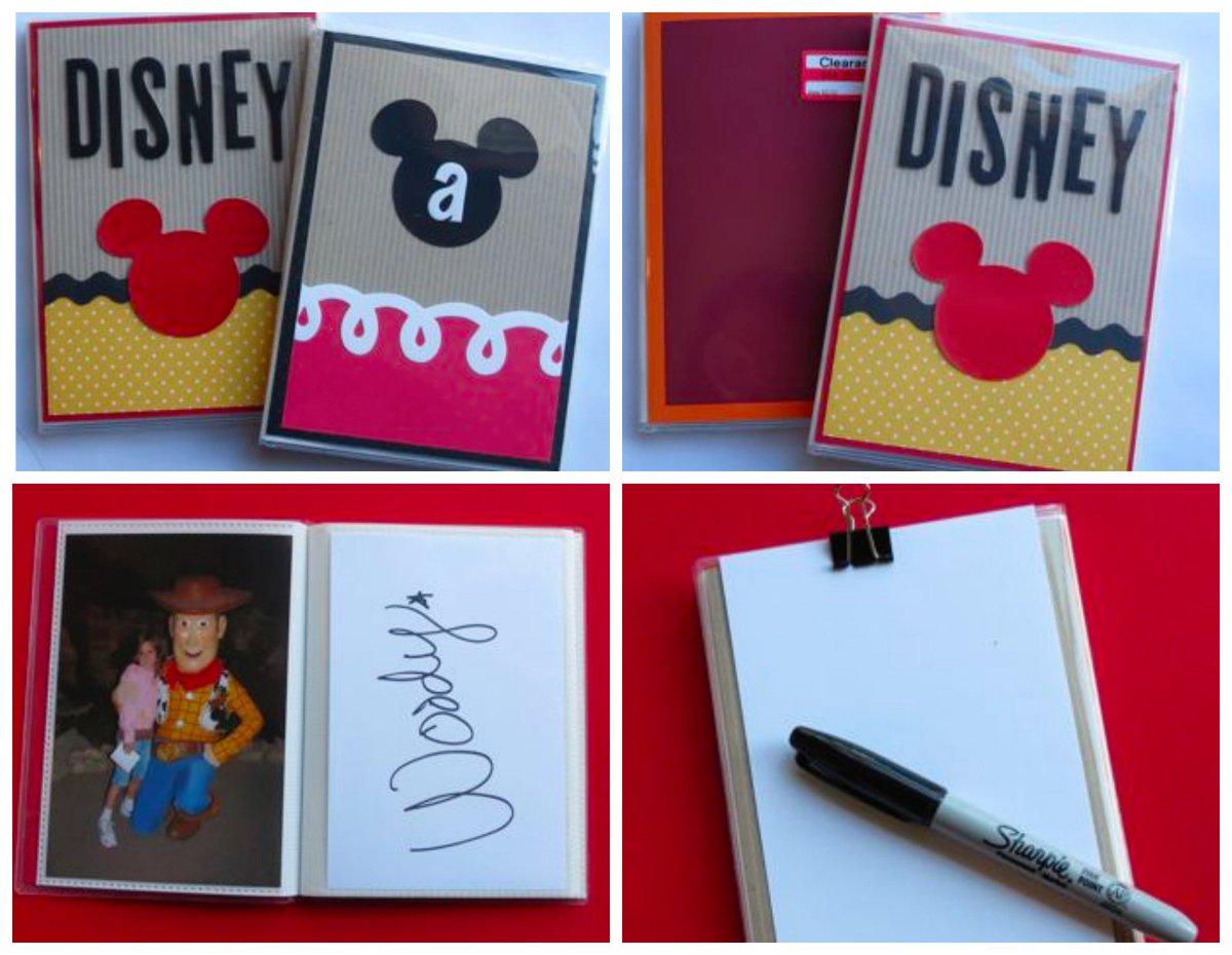 Make your own Disney autograph books using a mini photo album. #disney #disneysmmc https://t.co/9eSEN42CXs https://t.co/bUZkiE4zVi