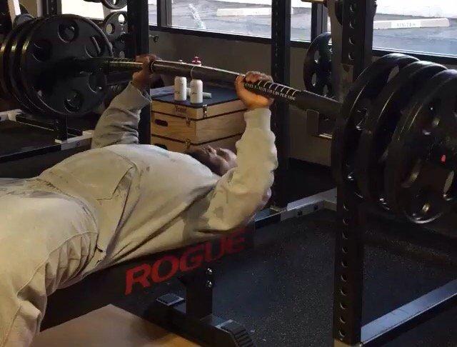 video james harrison s tsunami bench press looks insane