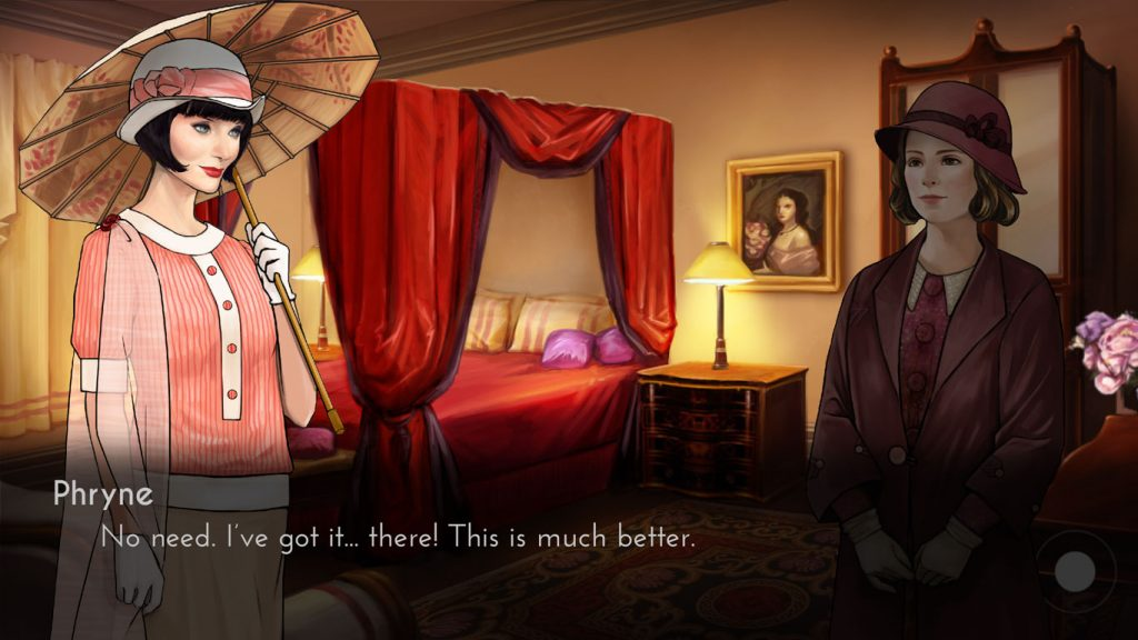 A first look at our upcoming #MissFisher chooseable-path, investigative visual novel game: https://t.co/2N63SxmNP4 https://t.co/UzIV01ZIPM