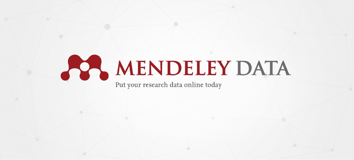 #MendeleyData is out of beta, great news and a fine rhyme for you today! https://t.co/lHUBloRUxQ https://t.co/ptsyqJXcTs