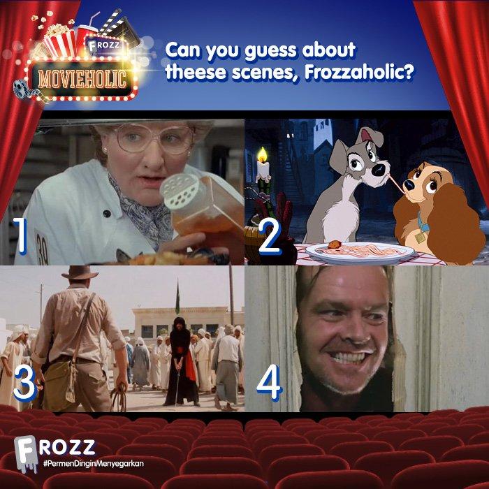 Saatnya Kuis #FrozzMovieHolic !  Jawab pertanyaan berikut dan menangkan hadiahnya! https://t.co/sLFsj5n1NH