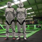 We don't want to FORCE you, but come dressed as a #StarWars character today & you can bounce for FREE #STARWARSDAY https://t.co/pGQCtfyAwv
